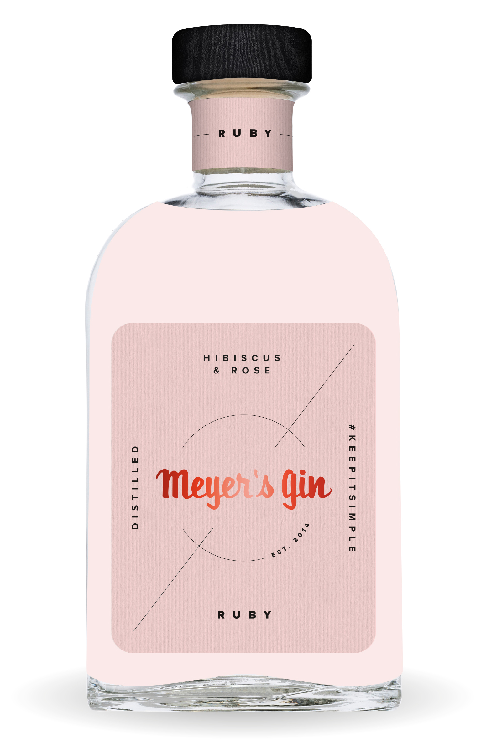Meyer's Gin Ruby